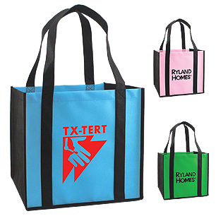 BGW11 - Non-Woven Tote With Bottom Support Insert