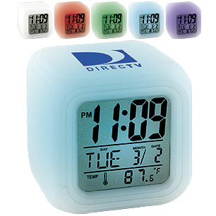 CK12 - Color-Changing LCD Alarm Clock