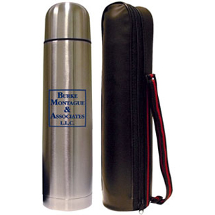 NTM185 - 33 oz. Stainless Steel Thermos