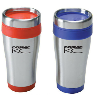 NTM44 - 16 oz. Stainless Tumbler With Color Liner