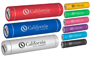 PH12-2600S - Portable Cylinder USB Power Bank 2600 mAh Samsung