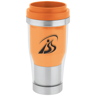 SWST55OR - 16 oz 2-Tone Translucent Tumbler - Orange